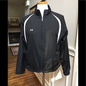 Under Armour black and white jacket